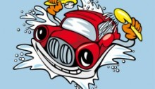 Carwash to illustrate lifestyle change action