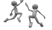 Happy people dancing to illustrate lifestyle change feeling